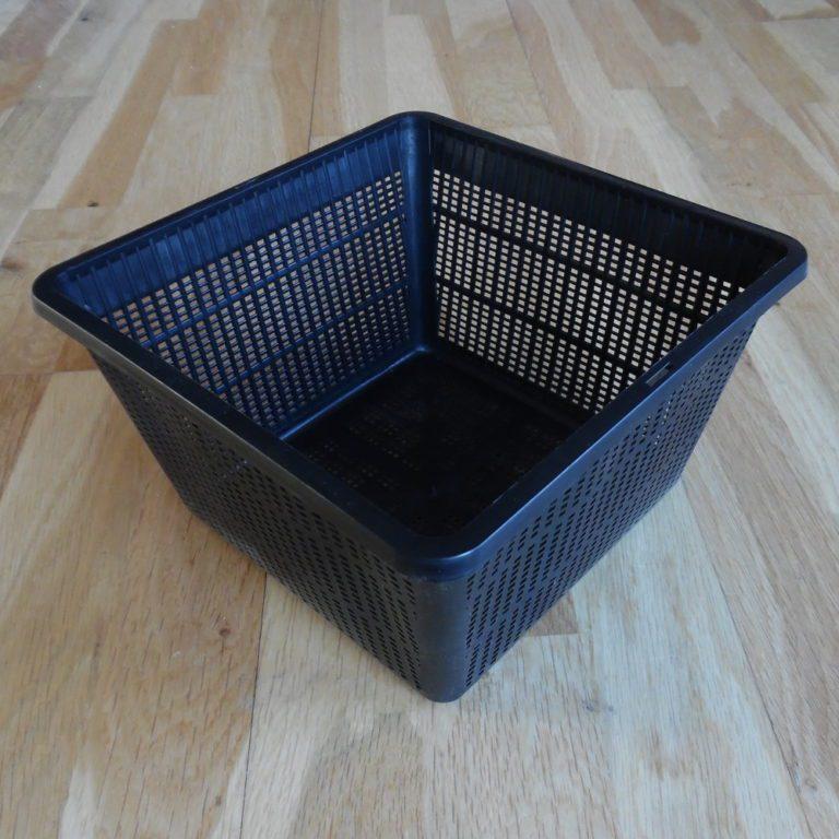 Mesh pond plant basket 28 X 28cm square