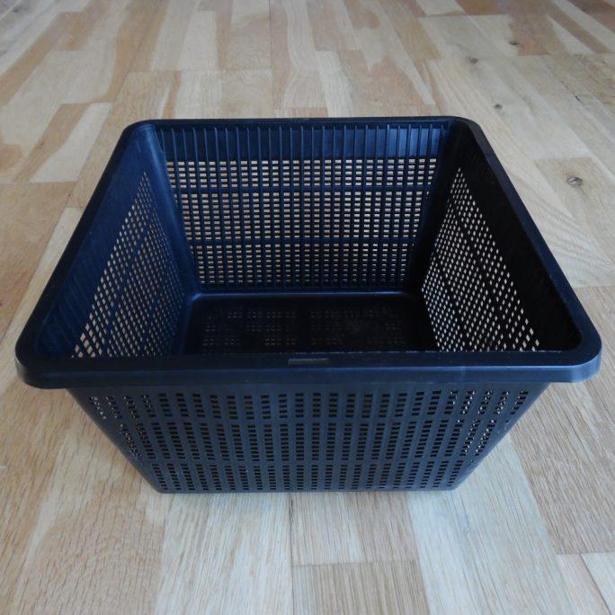 Mesh pond plant basket 23cm x 23 cm square